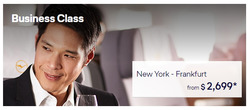 Lufthansa deals in the New York weekly ad