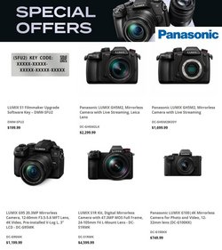 Electronics & Office Supplies deals in the Panasonic catalog ( 28 days left)