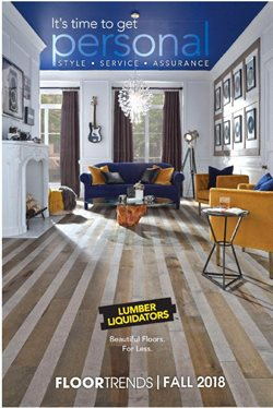 Lumber Liquidators deals in the New York weekly ad