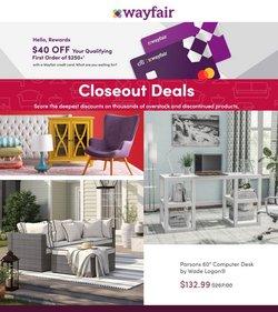 Wayfair deals in the Wayfair catalog ( 10 days left)