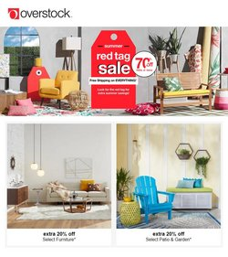 Home & Furniture deals in the Overstock catalog ( 6 days left)