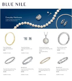 Blue Nile catalogue ( 4 days left )