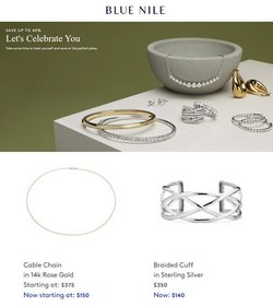 Blue Nile deals in the Blue Nile catalog ( 1 day ago)