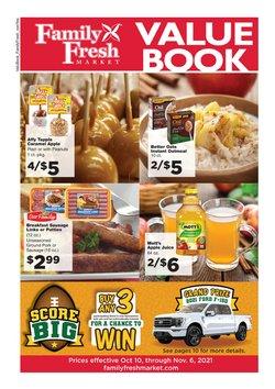 Family Fresh Market deals in the Family Fresh Market catalog ( 16 days left)