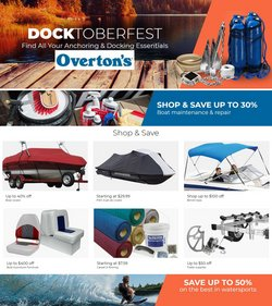 Overton's deals in the Overton's catalog ( 11 days left)