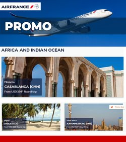Travel & Leisure deals in the Air France catalog ( Expires tomorrow)