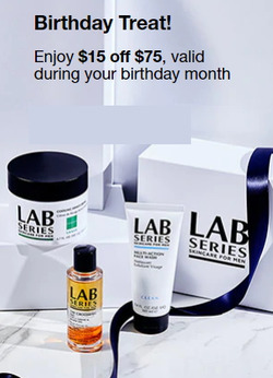 Lab Series coupon in Danbury CT ( 5 days left )