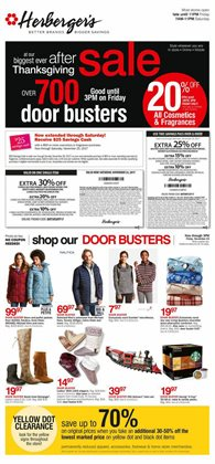 Herberger's deals in the Hilton NY weekly ad