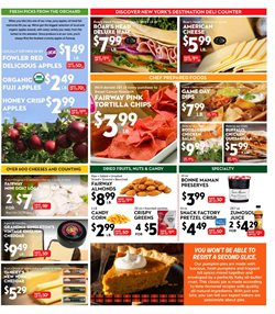Fruit deals in the Fairway Store Market weekly ad in New York