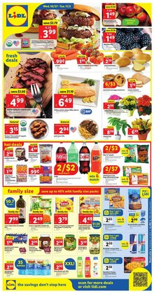 Grocery & Drug deals in the Lidl catalog ( Published today)