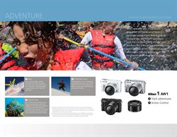 Photo camera deals in the Nikon weekly ad in New York