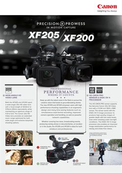 Video deals in the Canon weekly ad in New York