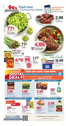 Fry's deals in the Yuma AZ weekly ad