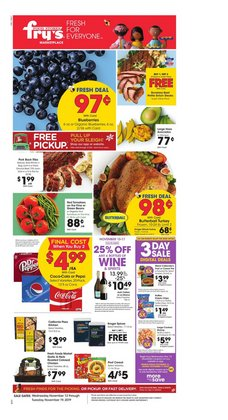 Fry's deals in the Tucson AZ weekly ad