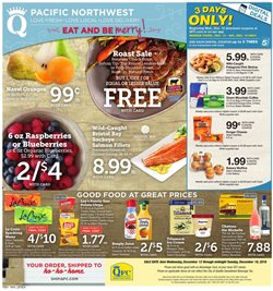 Potatoes deals in the QFC weekly ad in Puyallup WA