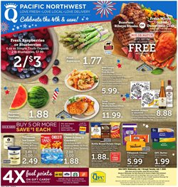Grocery & Drug offers in the QFC catalogue in North Bend WA ( Expires today )