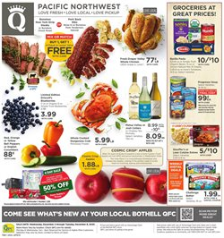 QFC catalogue ( Published today )