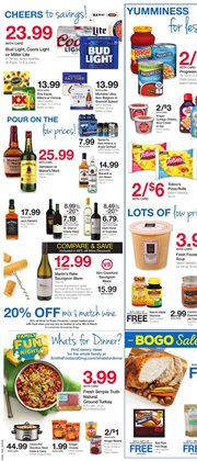 Wine deals in the Smith's weekly ad in Las Vegas NV