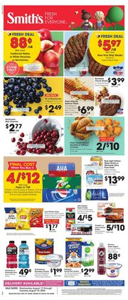 Grocery & Drug offers in the Smith's catalogue in West Jordan UT ( 1 day ago )