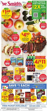 Grocery & Drug deals in the Smith's catalog ( Published today)