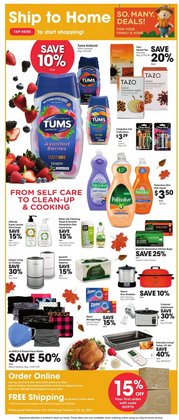 Grocery & Drug deals in the Smith's catalog ( 4 days left)