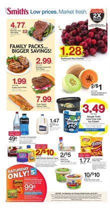 Smith's deals in the Albuquerque NM weekly ad