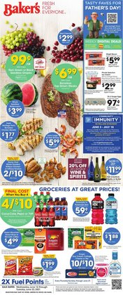 Grocery & Drug deals in the Baker's catalog ( Published today)