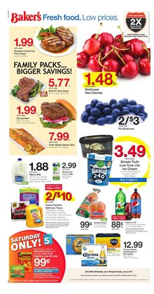 Baker's deals in the Omaha NE weekly ad