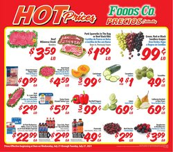Grocery & Drug deals in the Foods Co catalog ( Expires today)