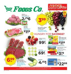 Foods Co deals in the Foods Co catalog ( 3 days left)