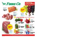 Grocery & Drug deals in the Foods Co catalog ( Expires tomorrow)
