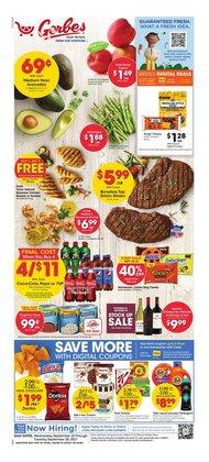 Gerbes deals in the Gerbes catalog ( Expires today)