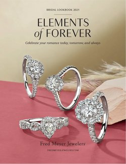 Jewelry & Watches deals in the Fred Meyer Jewelers catalog ( 29 days left)