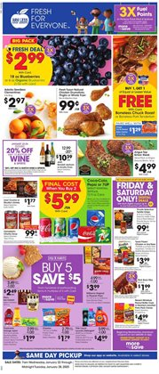 Pay Less deals in the Santa Ana CA weekly ad