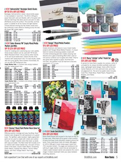 Covers deals in the Blick weekly ad in New York