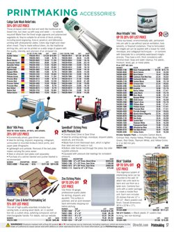 Table deals in the Blick weekly ad in New York