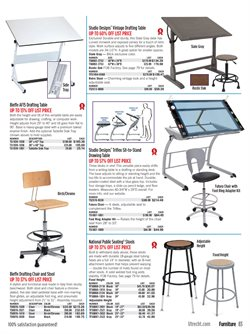 Chairs deals in the Blick weekly ad in New York