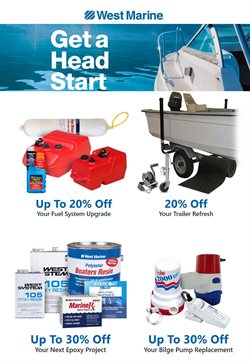 Department Stores offers in the West Marine catalogue in Gilbert AZ ( 15 days left )