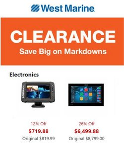 Department Stores deals in the West Marine catalog ( 9 days left)