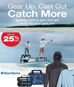 Department Stores deals in the West Marine catalog ( Published today)