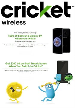 Cricket Wireless deals in the Columbus IN weekly ad
