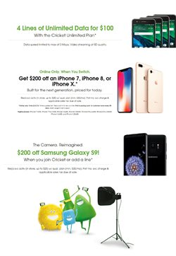 Cricket Wireless deals in the New York weekly ad