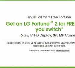LG deals in the Cricket Wireless weekly ad in Fontana CA
