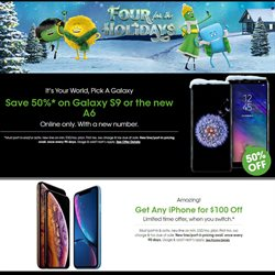 Electronics & Office Supplies deals in the Cricket Wireless weekly ad in Roswell GA