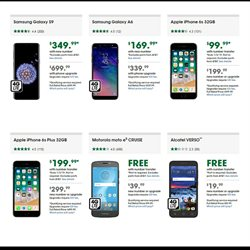 Phones deals in the Cricket Wireless weekly ad in Fullerton CA
