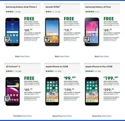 Samsung Galaxy deals in the Cricket Wireless weekly ad in New York
