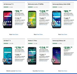 Nokia deals in the Cricket Wireless weekly ad in New York