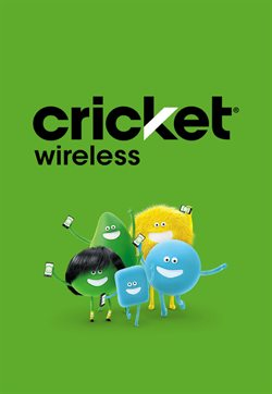 Electronics & Office Supplies deals in the Cricket Wireless weekly ad in Aiken SC