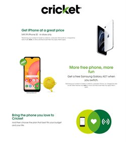 Cricket Wireless catalog ( Expired)