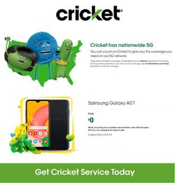 Cricket Wireless catalog ( 22 days left)